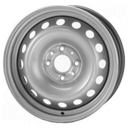 Диск Magnetto 5,5Jx14 4/98 ET35 d-58,5 Silver ВАЗ 2110 - 2112